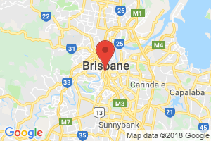 Location of South Brisbane